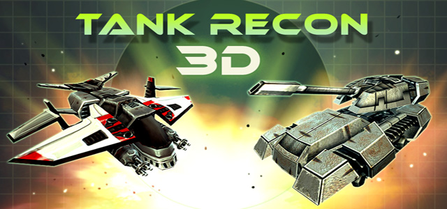 Tank Recon 3D Banner